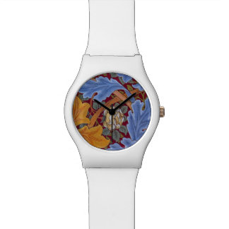 William Morris St. James Vintage Floral Design Watch