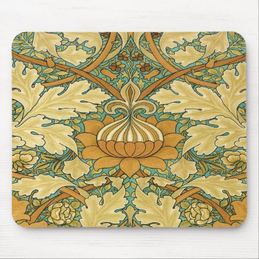 "William Morris ""St.James's"" Mousepad"