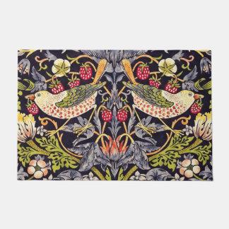 William Morris Strawberry Thief Floral Art Nouveau Doormat