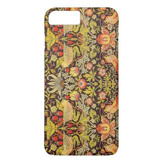 William Morris Strawberry Thief Pattern iPhone 7 Plus Case