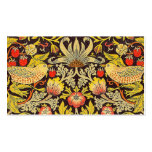 William Morris Strawberry Thief Pattern Pack Of Standard Business Cards