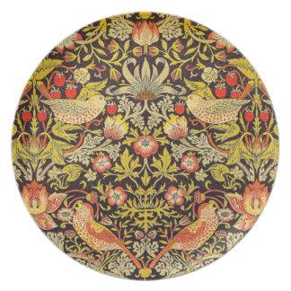 William Morris Strawberry Thief Pattern Plate