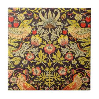 William Morris Strawberry Thief Pattern Tile