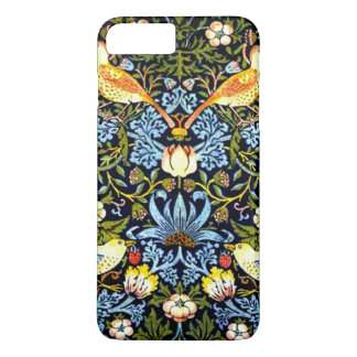 William Morris: Strawberry Thief vintage design iPhone 8 Plus/7 Plus Case
