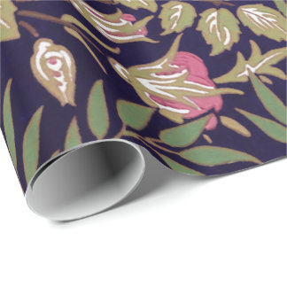 William Morris Sweet Briar Floral Art Nouveau Wrapping Paper