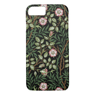 William Morris Sweet Briar Vintage Floral Pattern iPhone 8/7 Case