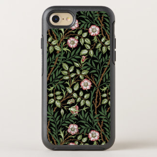 William Morris Sweet Briar Vintage Floral Pattern OtterBox Symmetry iPhone 7 Case