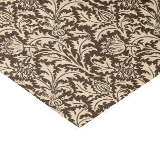 William Morris Thistle Damask, Taupe Tan & Beige Tissue Paper