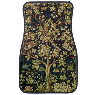 William Morris Tree Of Life Car Mat