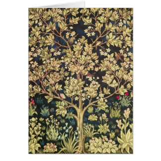 William Morris Tree Of Life Card