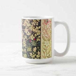 William Morris Tree Of Life Floral Vintage Art Basic White Mug