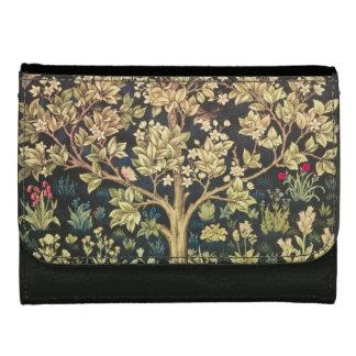 William Morris Tree Of Life Floral Vintage Art Wallet