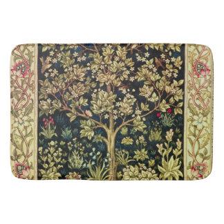 William Morris Tree Of Life Floral Vintage Art Bath Mats