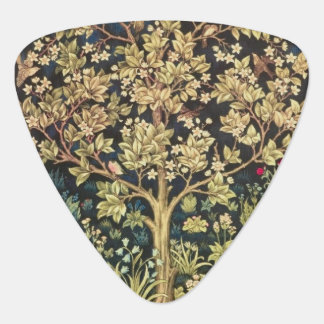 William Morris Tree Of Life Guitar Pick