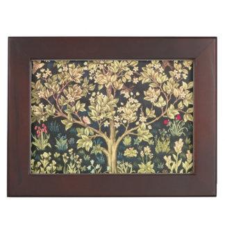 William Morris Tree Of Life Keepsake Box