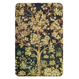 William Morris Tree Of Life Vinyl Magnets