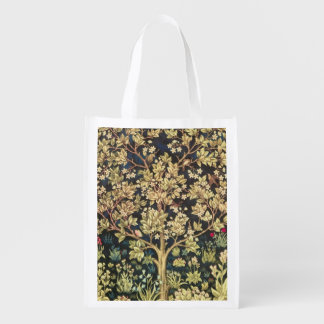 William Morris Tree Of Life Reusable Grocery Bag