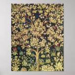 William Morris Tree Of Life Vintage Pre-Raphaelite