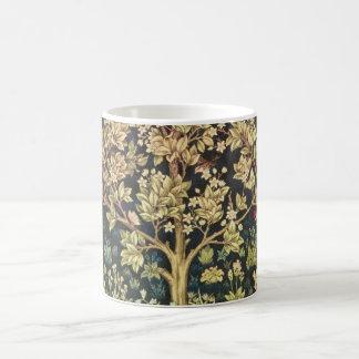 William Morris Tree Of Life Vintage Pre-Raphaelite Basic White Mug