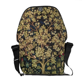 William Morris Tree Of Life Vintage Pre-Raphaelite Commuter Bag