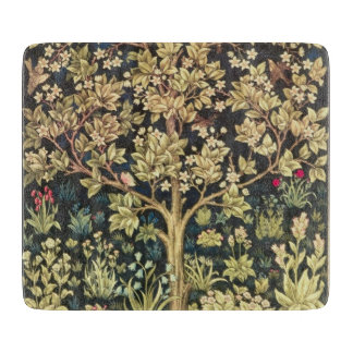 William Morris Tree Of Life Vintage Pre-Raphaelite Cutting Board