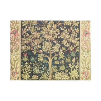 William Morris Tree Of Life Vintage Pre-Raphaelite Doormat