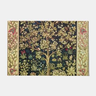 William Morris Tree Of Life Vintage Pre-Raphaelite Doormat