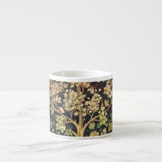 William Morris Tree Of Life Vintage Pre-Raphaelite Espresso Mug