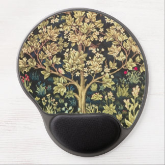 William Morris Tree Of Life Vintage Pre-Raphaelite Gel Mouse Mat