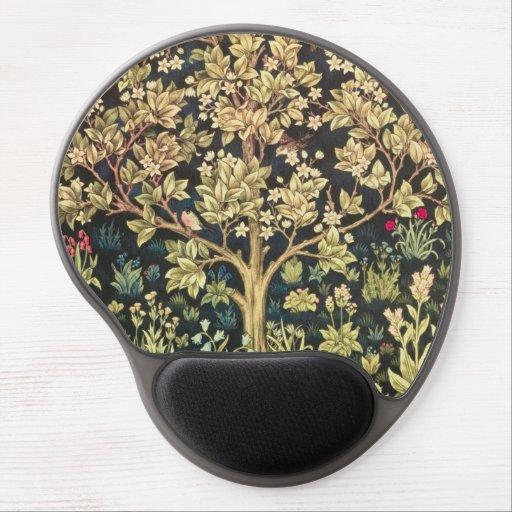 William Morris Tree Of Life Vintage Pre-Raphaelite Gel Mouse Mat