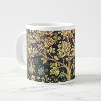 William Morris Tree Of Life Vintage Pre-Raphaelite Jumbo Mug