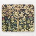 William Morris Tree Of Life Vintage Pre-Raphaelite Mouse Mat