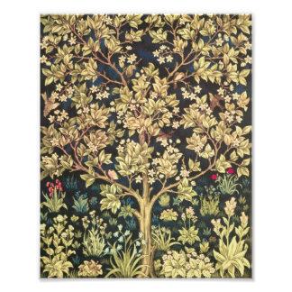 William Morris Tree Of Life Vintage Pre-Raphaelite Photo Print