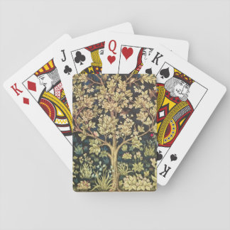 William Morris Tree Of Life Vintage Pre-Raphaelite Playing Cards