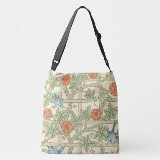 William Morris Trellis Pattern Crossbody Bag