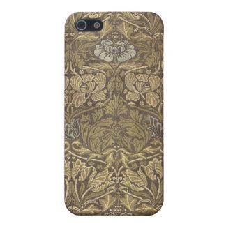 William Morris Tulip and Rose Pattern iPhone 5 Cover