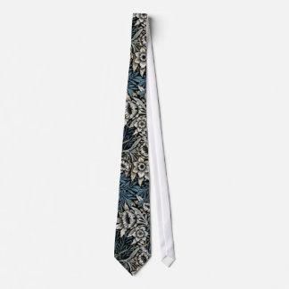 William Morris Tulips and Willow Tie