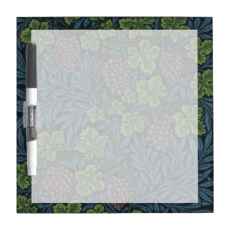 William Morris Vine Wallpaper Design Dry Erase Board