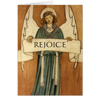 William Morris Vintage Angel Fine Art Card