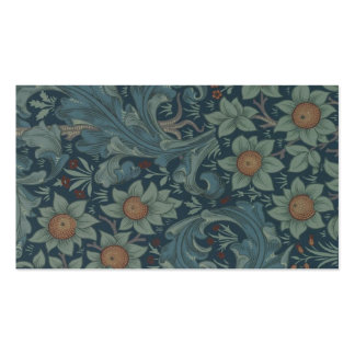 William Morris Vintage Orchard Floral Design Double-Sided Standard Business Cards (Pack Of 100)