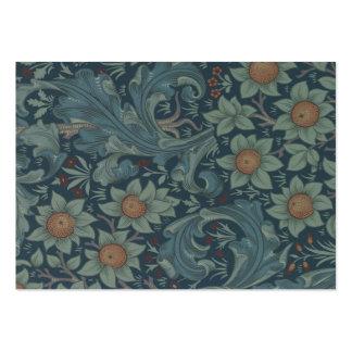 William Morris Vintage Orchard Floral Design Large Business Cards (Pack Of 100)