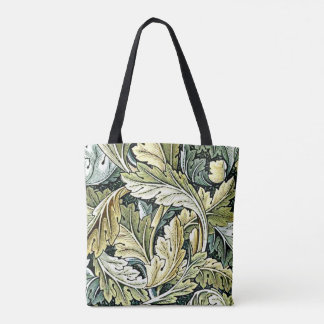 William Morris vintage pattern, Acanthus Tote Bag