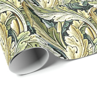 William Morris vintage pattern, Acanthus Wrapping Paper
