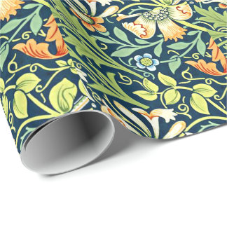 William Morris vintage pattern, Compton Wrapping Paper