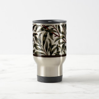 William Morris vintage pattern, Willow Bough Travel Mug
