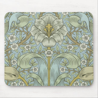 William Morris Vintage Spring thicket Floral Desig Mouse Mat