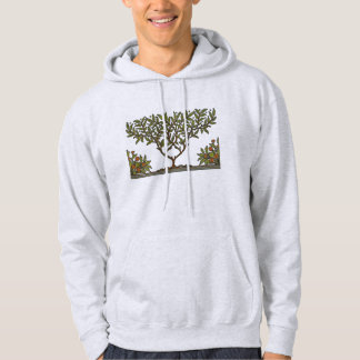 William Morris Vintage Tree Floral Design Hoodie