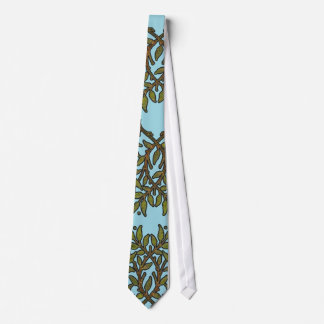 William Morris Vintage Tree Floral Design Tie