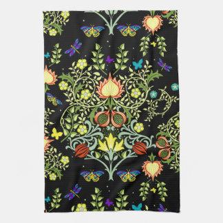 William Morris Vintage Wallpaper Tea Towel