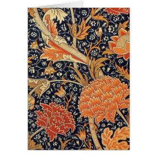 William Morris Wallpaper Cray Design Card